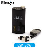 2015 streef Box Mod. 30W Esp met Wattage Adjustable (1900mAh)
