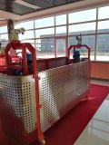 Plate-forme Zlp630 suspendue par aluminium pour des outils d'Abseiling de nettoyage en verre