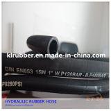 Roestvrij staal van de hoge druk vlechtte Hydraulische RubberSlang
