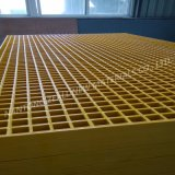 Reja moldeada fibra de vidrio con el espesor 38m m
