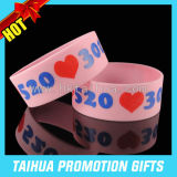인쇄 Promotion Item (TH-08939)를 가진 One Inch Silicon Wristband