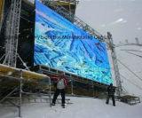 P16 LED commerciale annonçant l'affichage de location