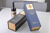 La boîte de papier/l'empaquetage à vin de carte personnalisé reçoivent