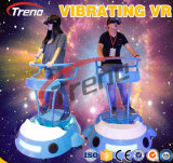 Super Real Interactive Virtual Reality Experience Vibrant Vr Simulator Vr Game Machine