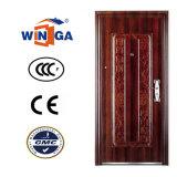 Porte en acier de vente de pièce extérieure chaude professionnelle de bonne qualité (W-S-138)