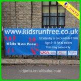 2015カスタム広告の印刷の防水シートのビニールの屋外の旗