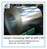 Type d'ASTM A653 une bobine en acier galvanisée