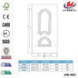 Porte blanche en bois d'entrée intérieure en bois solide (Jhk-M02)
