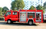 la espuma del tanque de agua de 4X2 Isuzu extingue el carro de petrolero de la lucha contra el fuego