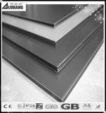 Folhas de parede de alumínio do material composto