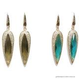 De hoogstaande en Hete Verkopende Oorring van de Manier van de Juwelen van China Echte Zilveren (E6817)