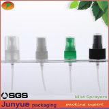 플라스틱 목 18/20 장식용 향수 과료 안개 스프레이어 모자 분사구