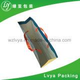 Хозяйственная сумка оптового изготовленный на заказ способа красивейшая, черные бумажные мешки