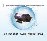 Pompa aspirante di auto del RO per uso della casa di purificazione di acqua con CE ISO9001 RoHS IPX4 (24volt 75gallon)