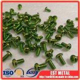 ISO7380 M5X10mmのチタニウムはねじTorx自転車熱心なディスク回転子をボルトで固定する