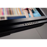 El panel de tacto ligero posterior de la pantalla táctil del LED LED TV