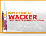 Sigillante acetico impermeabile del silicone dell'acquario della cura di migliore vendita