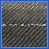 Pano biaxial da fibra do carbono do Twill 1K