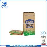 Bolso de basura de papel reciclable disponible de encargo