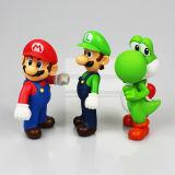 OEM 고품질을%s 가진 귀여운 Mario 플라스틱 만화 숫자 장난감