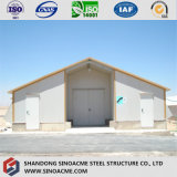 軽い格子フレームの構造の倉庫または記憶の小屋の建物
