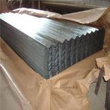 Lamiera di acciaio galvanizzata ondulata SPCC per tetto