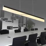 Lámpara lineal LED de 20W moderna con blanco y cálido color blanco Temp.