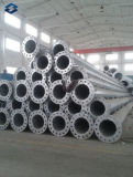 Riga di trasmissione elettrica torretta d'acciaio galvanizzata del tubo