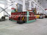 Machine de emballage en métal de Ydt-400A de chute en acier hydraulique automatique de compacteur