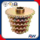 Roda dentada da movimentação agricultural chapeada cobre