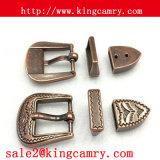Пряжка Pin металла Three-Piece 3 западной части пряжки Pin пряжки пояса для женщин
