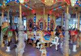 Напольный Carousel езды парка атракционов для мест Kids16/24/36