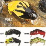60mm 11g flottant la grenouille d'une première le prix bon marché usine --- La qualité a fait Crankbait de pêche en plastique dur fait sur commande - Wobbler - attrait de pêche de Popper de cyprins