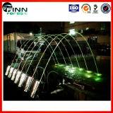 Getto di acqua variopinto della fontana del laser del Rainbow del passaggio pedonale