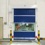 アルミニウム戸枠の圧延シャッター内部PVCプラスチック圧延のドア