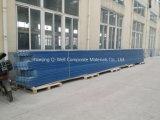 Il tetto ondulato di colore della vetroresina del comitato di FRP/di vetro di fibra riveste T172012 di pannelli