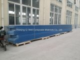 Толь цвета стеклоткани панели FRP Corrugated/стекла волокна обшивает панелями T172012