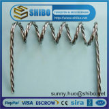 Hot Sale of Twisted Tungsten Wire, Tungsten Filment Rope, Tungsten Screw