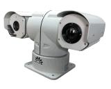 Dual - a câmara de segurança montada veículo do IP da canaleta com a lente do Thermal de 50mm