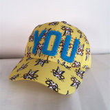熱転送の三次元刺繍、ヒップホップの帽子ドライバー帽子