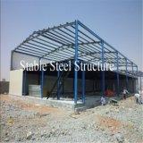 Le grand atelier galvanisé de structure métallique a jeté avec l'escompte