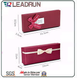 Contenitore di regalo del legame di arco con il contenitore di sciarpa della cinghia del presente dell'inserto di EVA dell'inserto del raso (YST14)