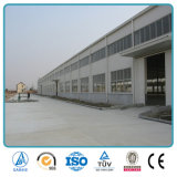 Edificio prefabricado de la fábrica de la asamblea del marco fácil del metal