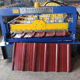 Máquina trapezoidalmente colorida da telhadura do metal do molde da folha