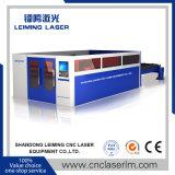 máquina de estaca cheia do laser da fibra da proteção de 3000W Lm3015h para o metal