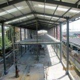 가벼운 강철 구조상 Prefabricated 창고 건축 디자인 및 임명