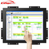 Caja del metal del marco abierto monitor capacitivo de la pantalla táctil de 19 pulgadas con el montaje de la pared