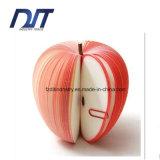 Nota appiccicosa a forma di 3D del Apple della cancelleria