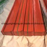 Telhadura de alumínio do zinco Roofing/Gl do metal ondulado do material de construção