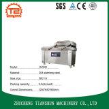 La double machine à emballer de vide de la chambre Dz500 pour des fruits de mer/a salé la viande/les poissons/porc/boeuf/riz secs